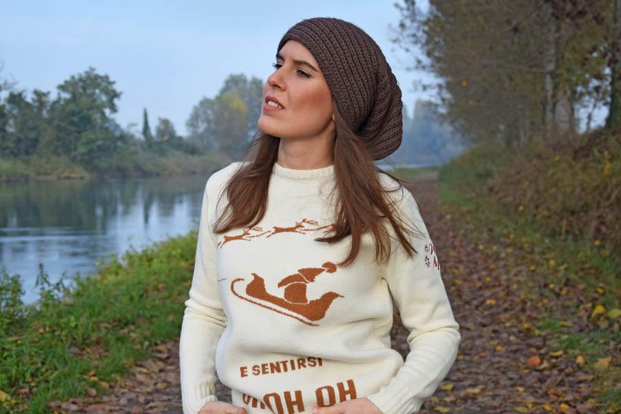 Maglione Natale Bianco 2020 Winter Mood