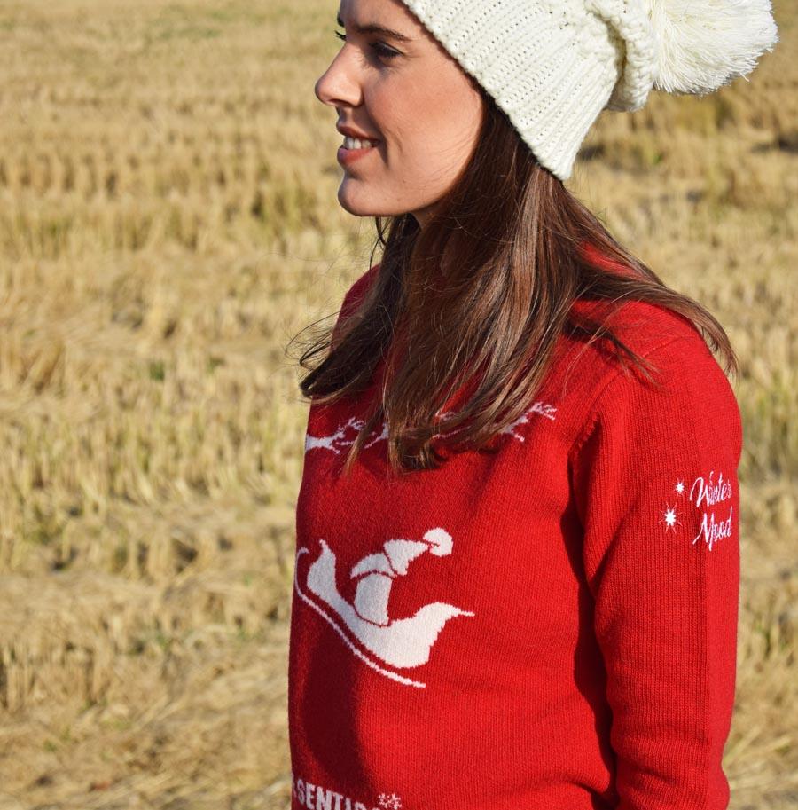 Maglione Natale Rosso 2020 Pantigliate Milano