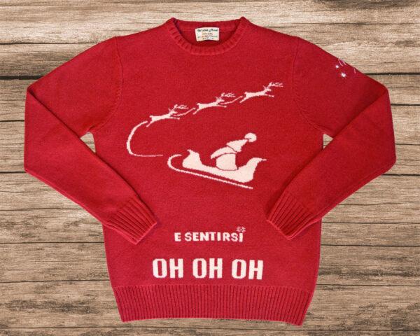 Maglione di Natale Rosso e Bianco