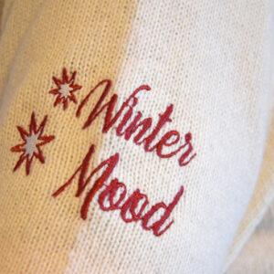 Winter Mood Bianco - Maglione di Natale