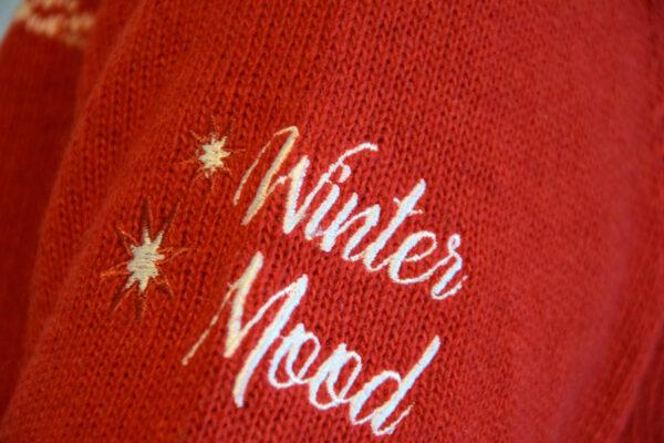 Winter Mood Rosso - Maglione di Natale