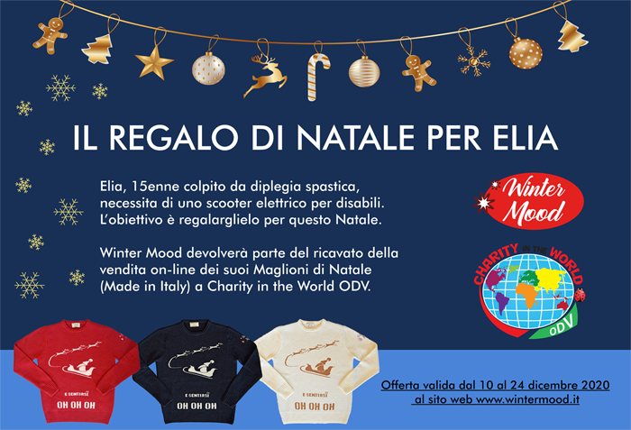 Christmas Jumper Day beneficenza con il maglione di Natale 2020