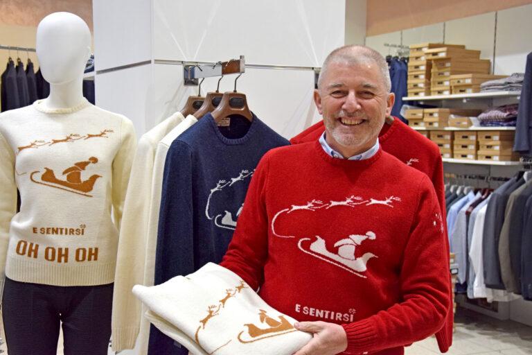 Il sindaco di Pantigliate Franco Abate indossa Winter Mood